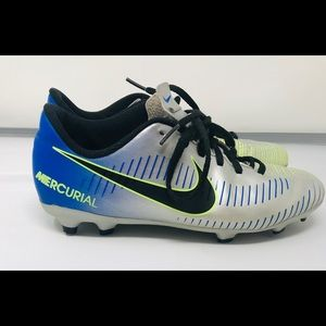 Nike Shoes - Nike Neymar JR Mercurial Vortex III Blue / Black
